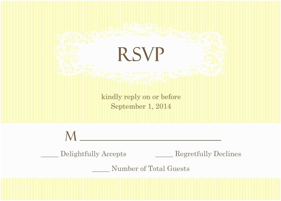 Wedding Invitation Rsvp Wording Samples Wedding Rsvp Wording formal and Casual Wording You Will