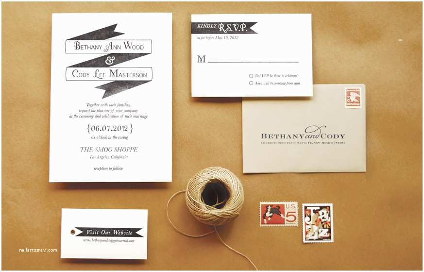 "Wedding Invitation Rubber Stamps Diy Rubber Stamp ""banner"" Wedding Invitations"