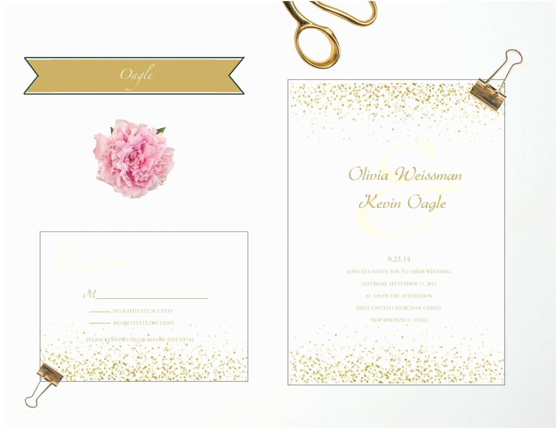 Wedding Invitation Sale Sale Confetti Wedding Invitation – Epaperheart