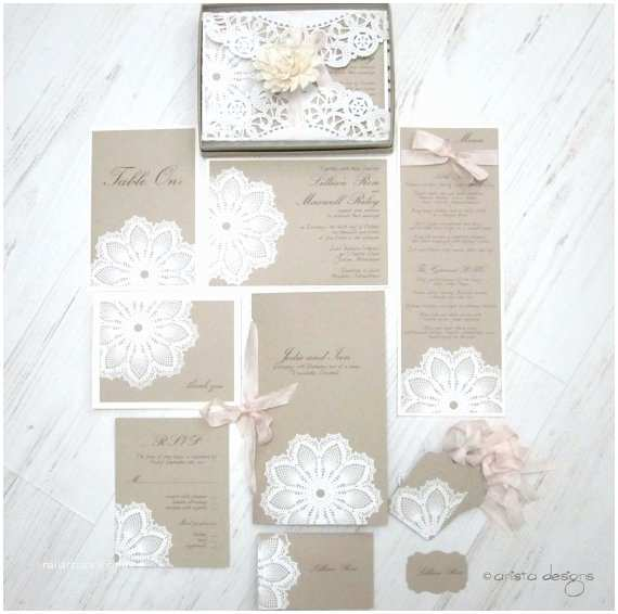 Wedding Invitation Sale Vintage Wedding Lace Wedding Invitation Card