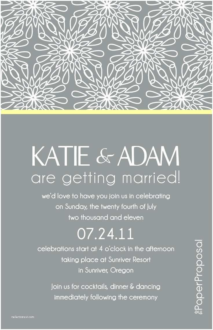 Wedding Invitation Sample Wording Modern Wedding Invitation Wording