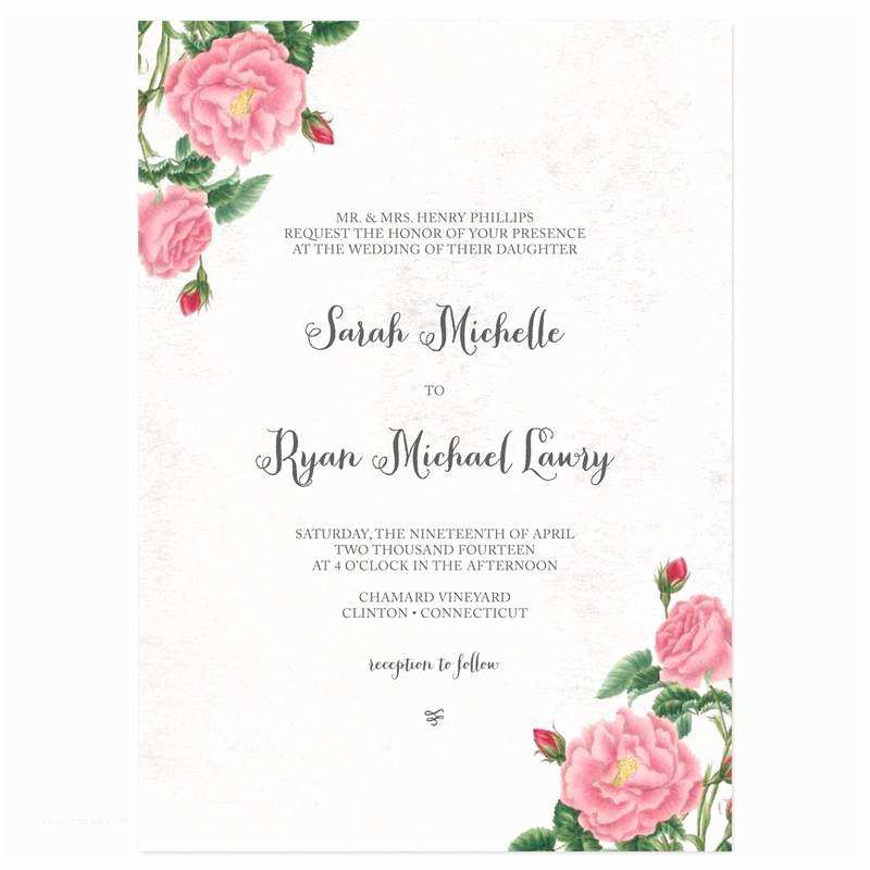 Wedding Invitation Sample Wording Unique Wedding Invitation Wording