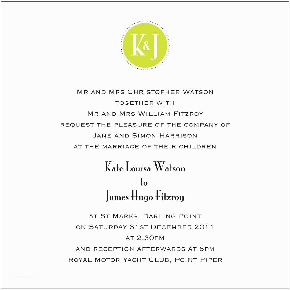 Wedding Invitation Sample Wording Wedding Ceremony Invitation Wording Wedding Ceremony