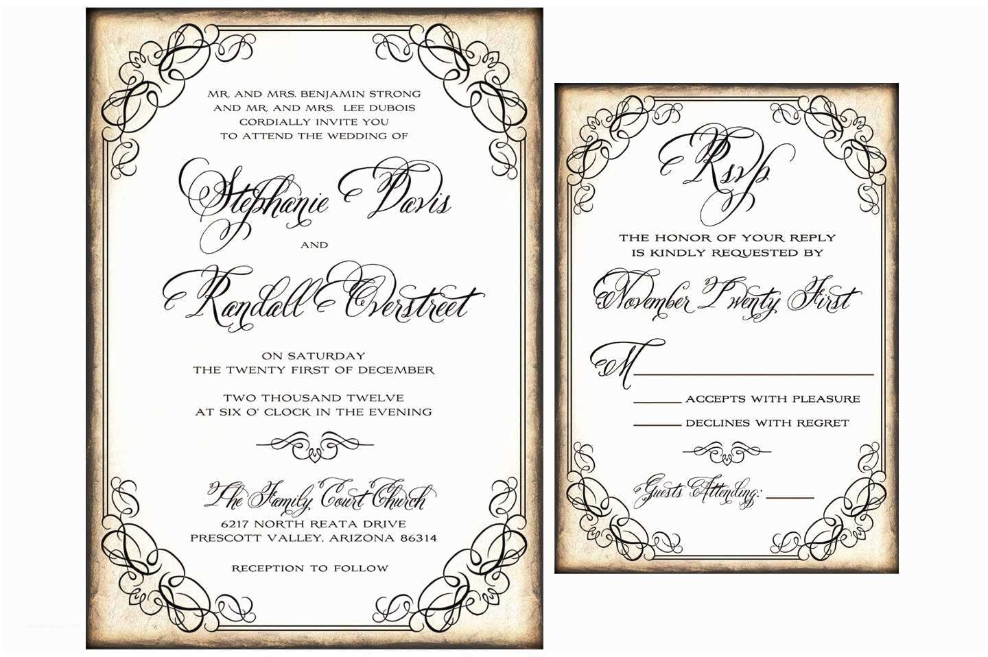 Wedding Invitation Sample Wording Wedding Structurewedding Structure