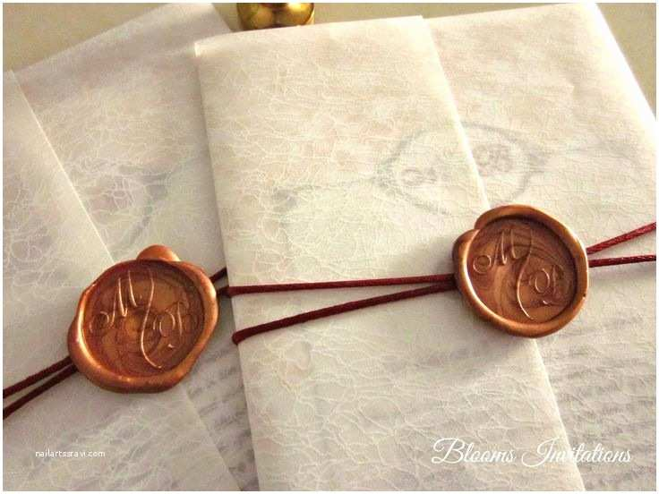 Wedding Invitation Seals 35 Best Images About Wax Seal Ideas On Pinterest