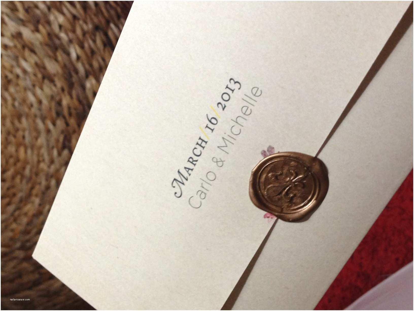 seals for wedding invitations