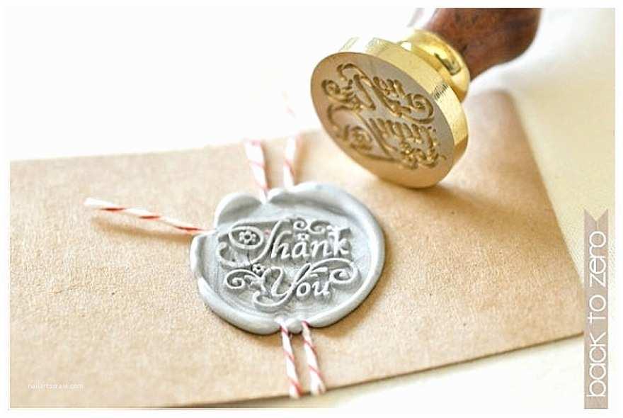 Wedding Invitation Seals Vintage Style Wedding Stationery Seals