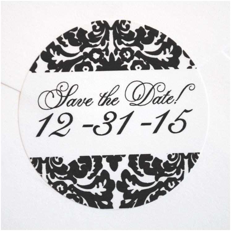 Wedding Invitation Seals Wedding Invitation Envelope White Sticker Seals Monogram