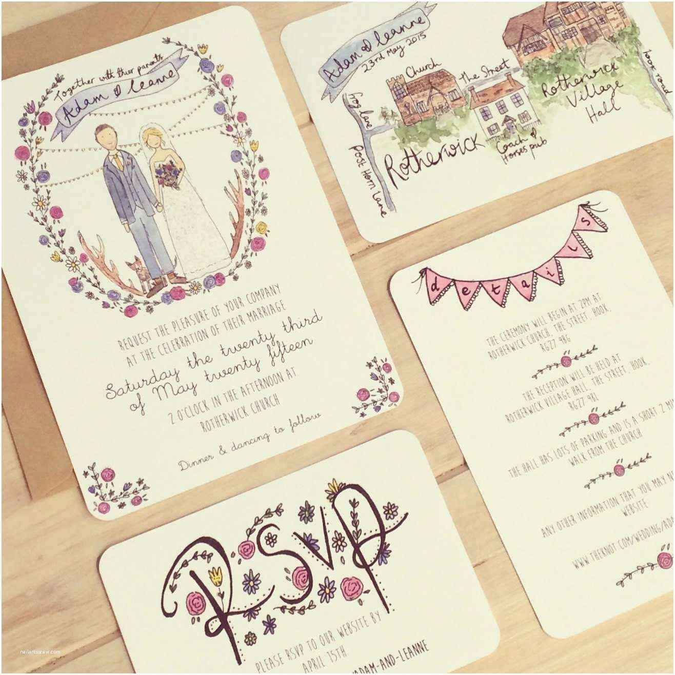 Wedding Invitation Service Custom Wedding Invitation Service by Littlemepaperco On