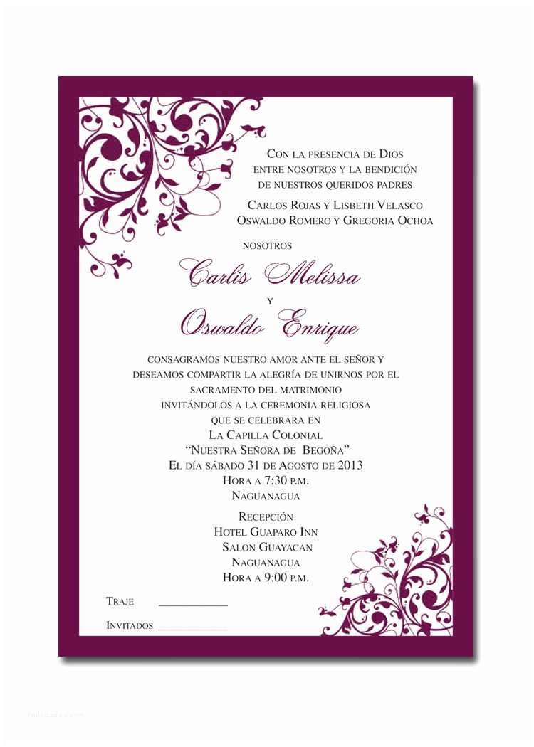 Wedding Invitation Service Pg Printers – Full Color Announcements