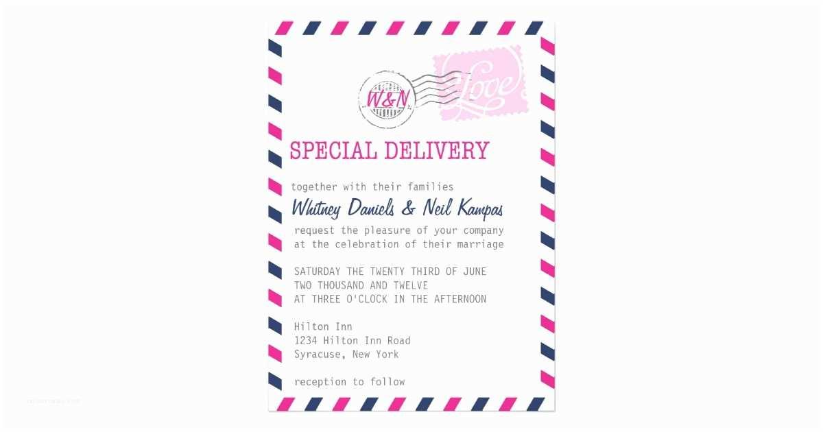 Wedding Invitation Service Wedding Invitation Postal Service Collection