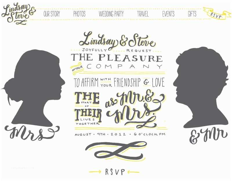 Wedding Invitation Sites Lindsay Steve S Hand Lettered Wedding Invitations