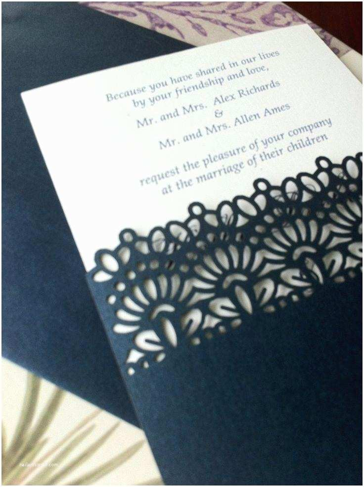 Wedding Invitation Sleeves Laser Cut Wedding Invitations Die Cut Wedding Invitations