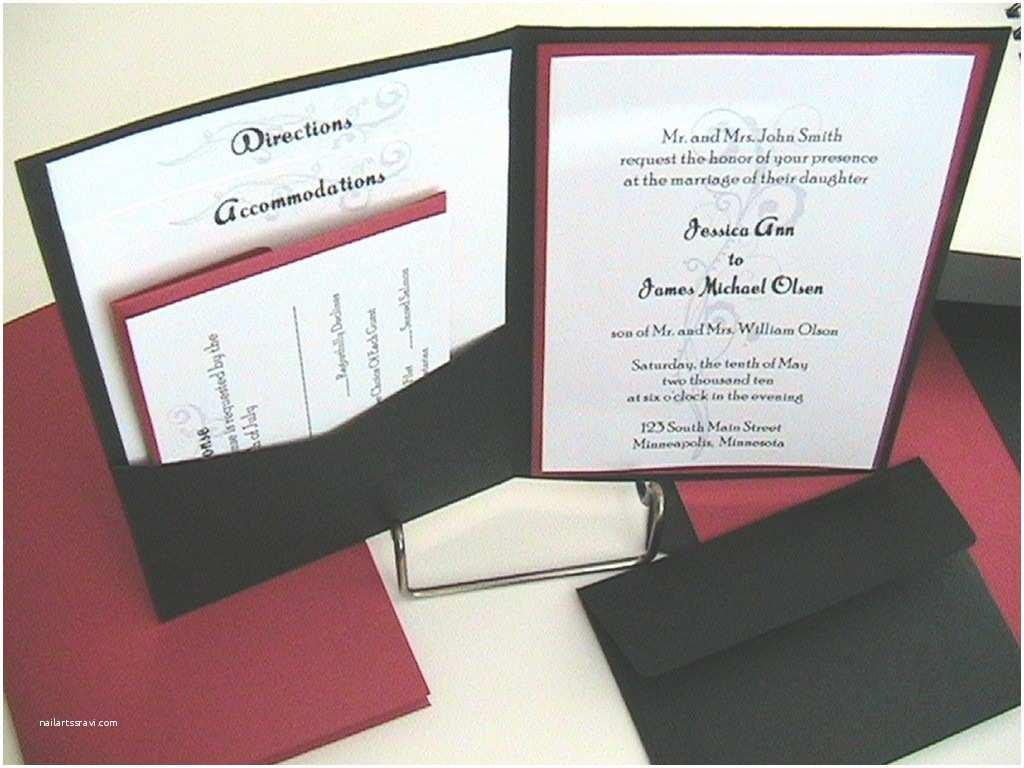 Wedding Invitation Sleeves Pocket Envelopes for Wedding Invitations