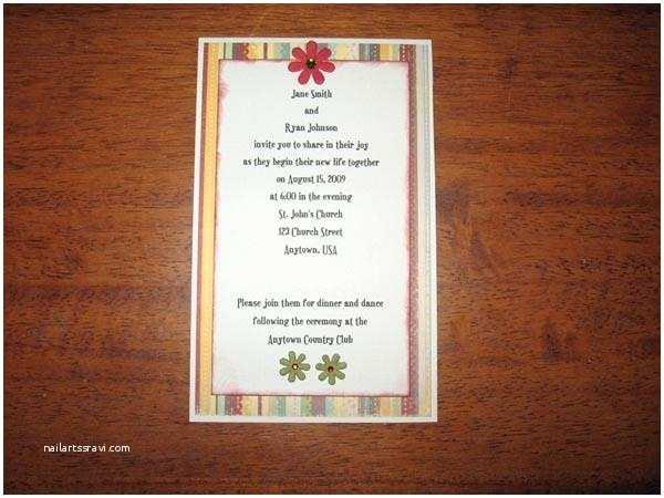 Wedding Invitation Slideshows Free Make Your Own Wedding Invitations [slideshow]