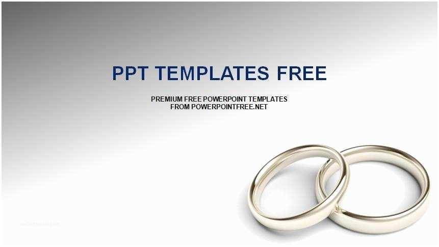 Wedding Invitation Slideshows Free Powerpoint Wedding Template Ponymailfo