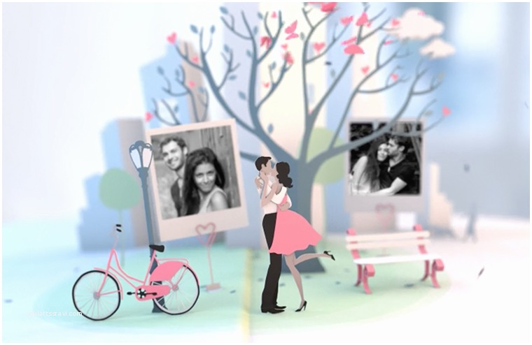 Wedding Invitation Slideshows Free top 10 Romantic Adobe after Effects Slideshow Templates