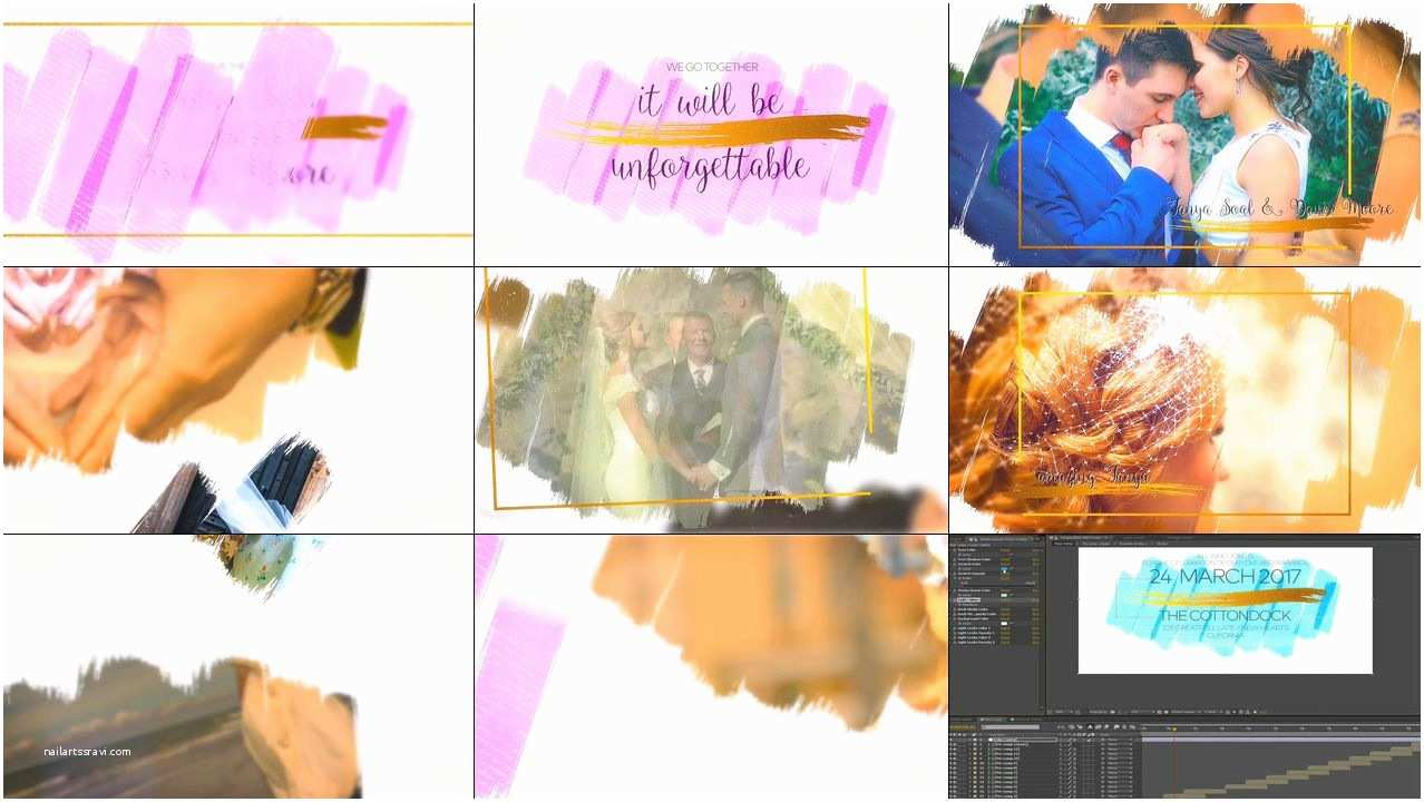 Wedding Invitation Slideshows Free Wedding Slideshow Invitation – Cgaeo影视后期