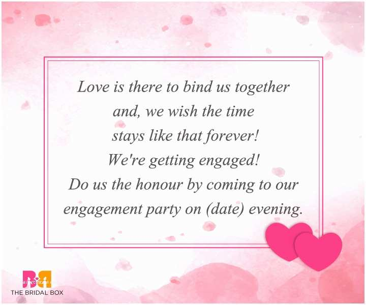 Wedding Invitation Sms 10 Engagement Invitation Sms Creative Ideas In 2016