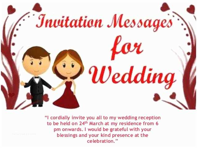 Wedding Invitation Sms Brother Wedding Invitation Sms to Friends Yaseen for