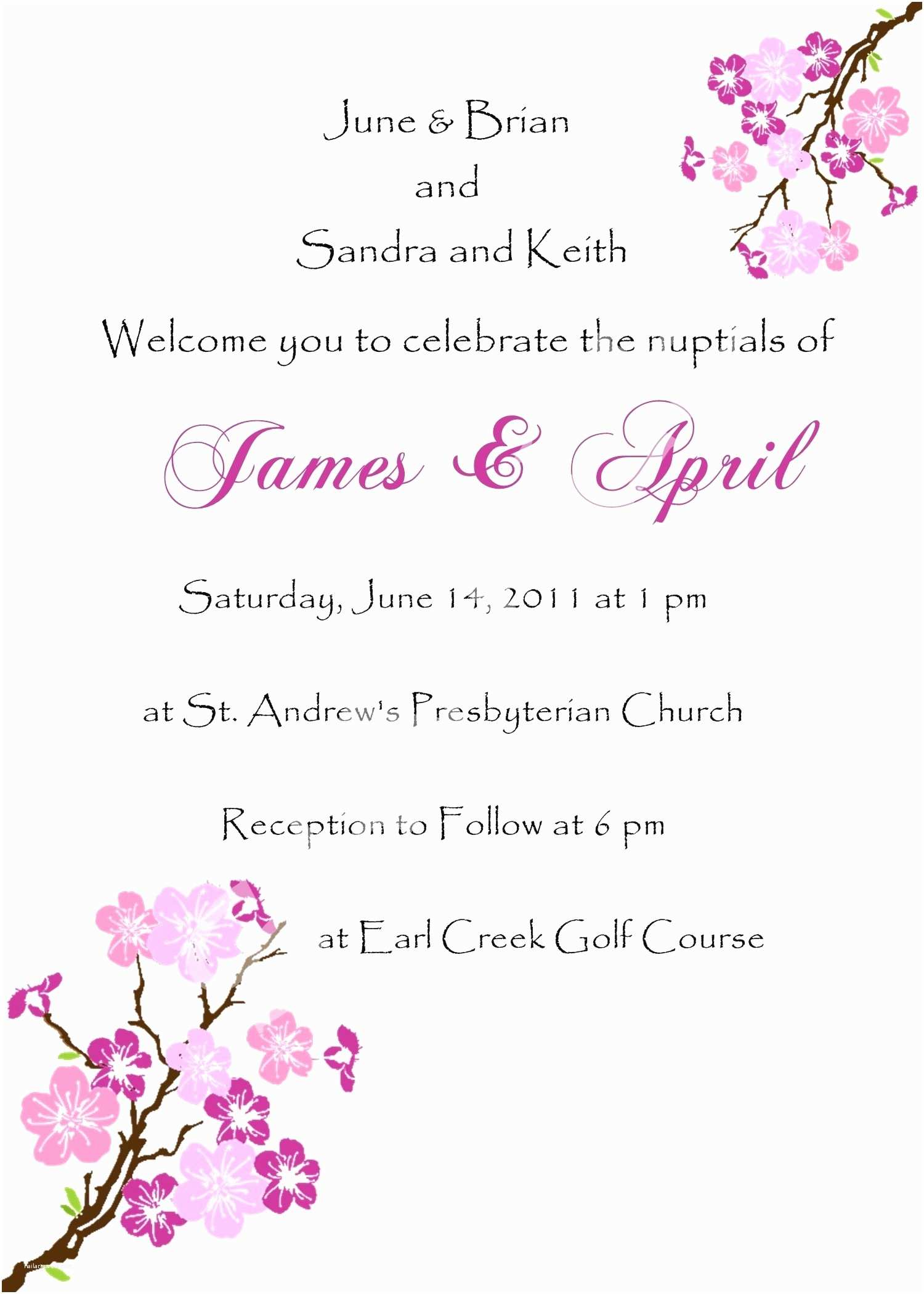 Wedding Invitation Sms Sample Wedding Invitation Via Sms Best Wedding Invitation
