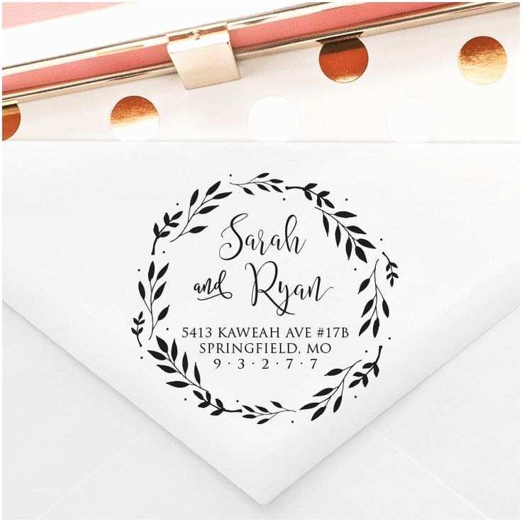 Wedding Invitation Stamps 25 Unique Return Address Stamps Ideas On Pinterest
