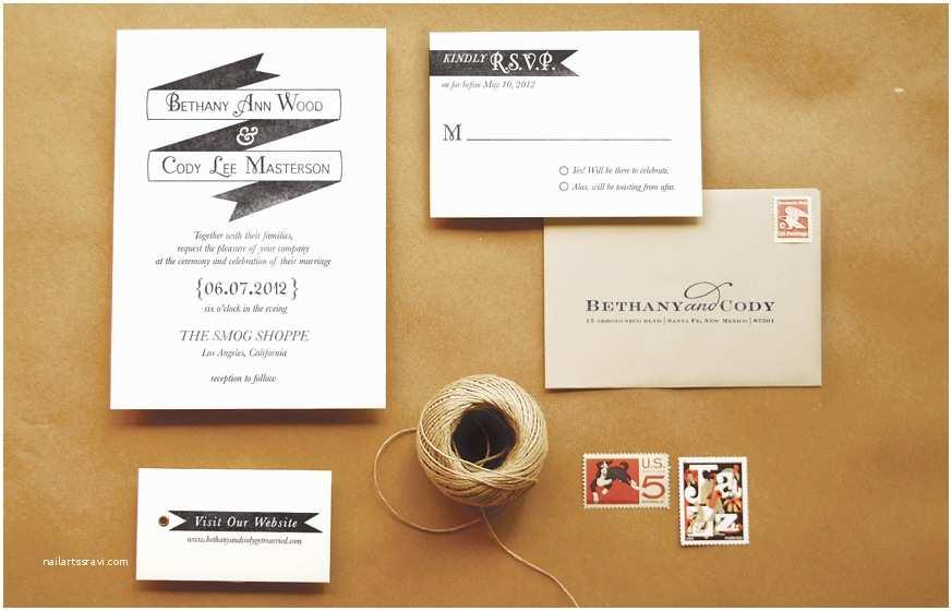 "Wedding Invitation Stamps Diy Rubber Stamp ""banner"" Wedding Invitations"