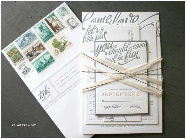 Wedding Invitation Stamps Fantastic Philatelic Wedding Invitations Beast Pieces