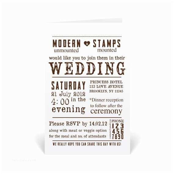 Wedding Invitation Stamps Wedding Invitation Stamp Wedding Stamp by Modernartstamps