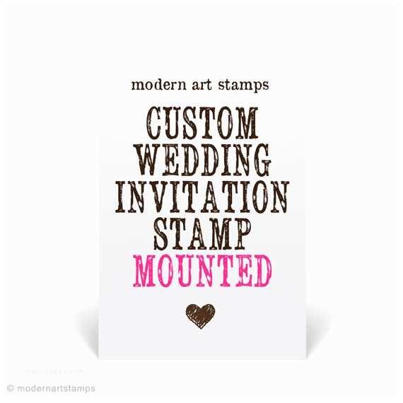 Wedding Invitation Stamps Wedding Invitation Stamp Wedding Stamp Custom Wedding