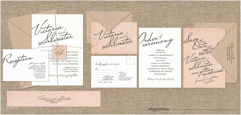 Wedding Invitation Styles Magnificent Vintage Style Wedding Invitations