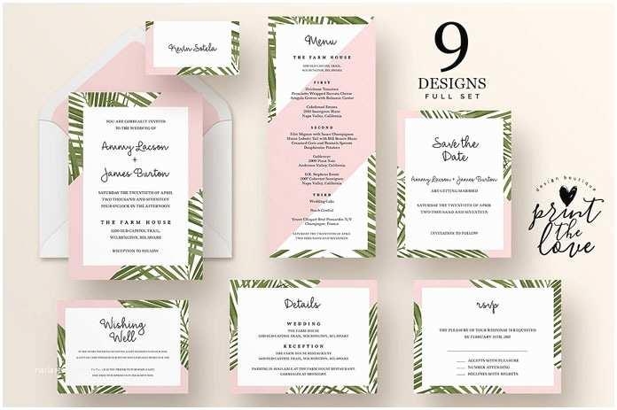 Wedding Invitation Suite top Wedding Invitation Templates