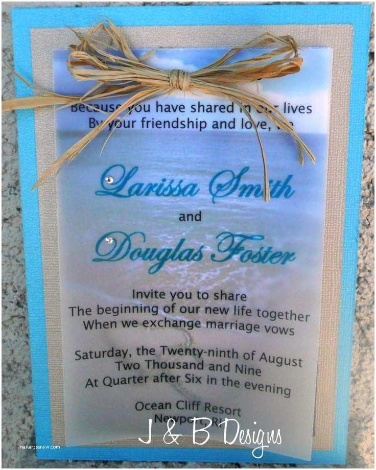 Wedding Invitation Templates Beach theme 34 Best Beach themed Wedding Invitations Images On