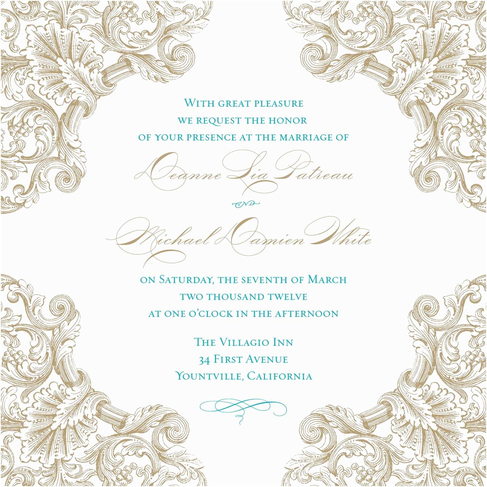 Wedding Invitation Templates Create Easy Wedding Invitations Templates Printable