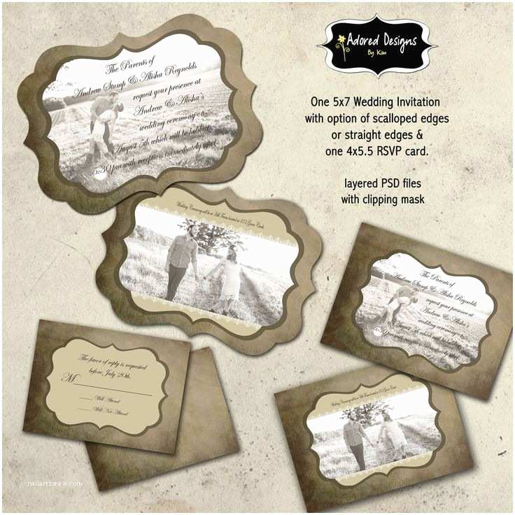 Wedding Invitation Templates Photoshop 17 Best Images About the Hunt is Over Wedding On