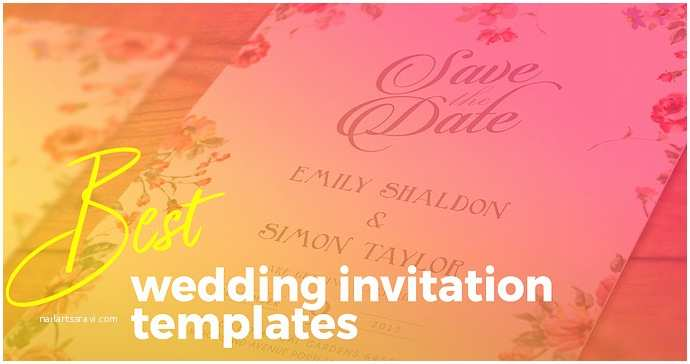 Wedding Invitation Templates Photoshop Best Wedding Invitation Templates for Adobe Shop