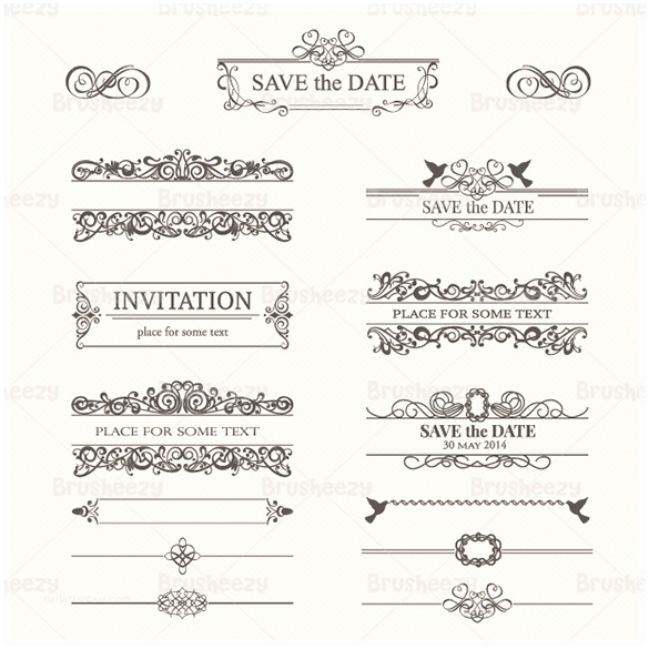 Wedding Invitation Templates Photoshop Wedding Invitation Shop Psd Templates Download