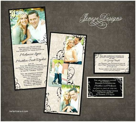 Wedding Invitation Templates Photoshop Wedding Invitation Template Graphers and Shop