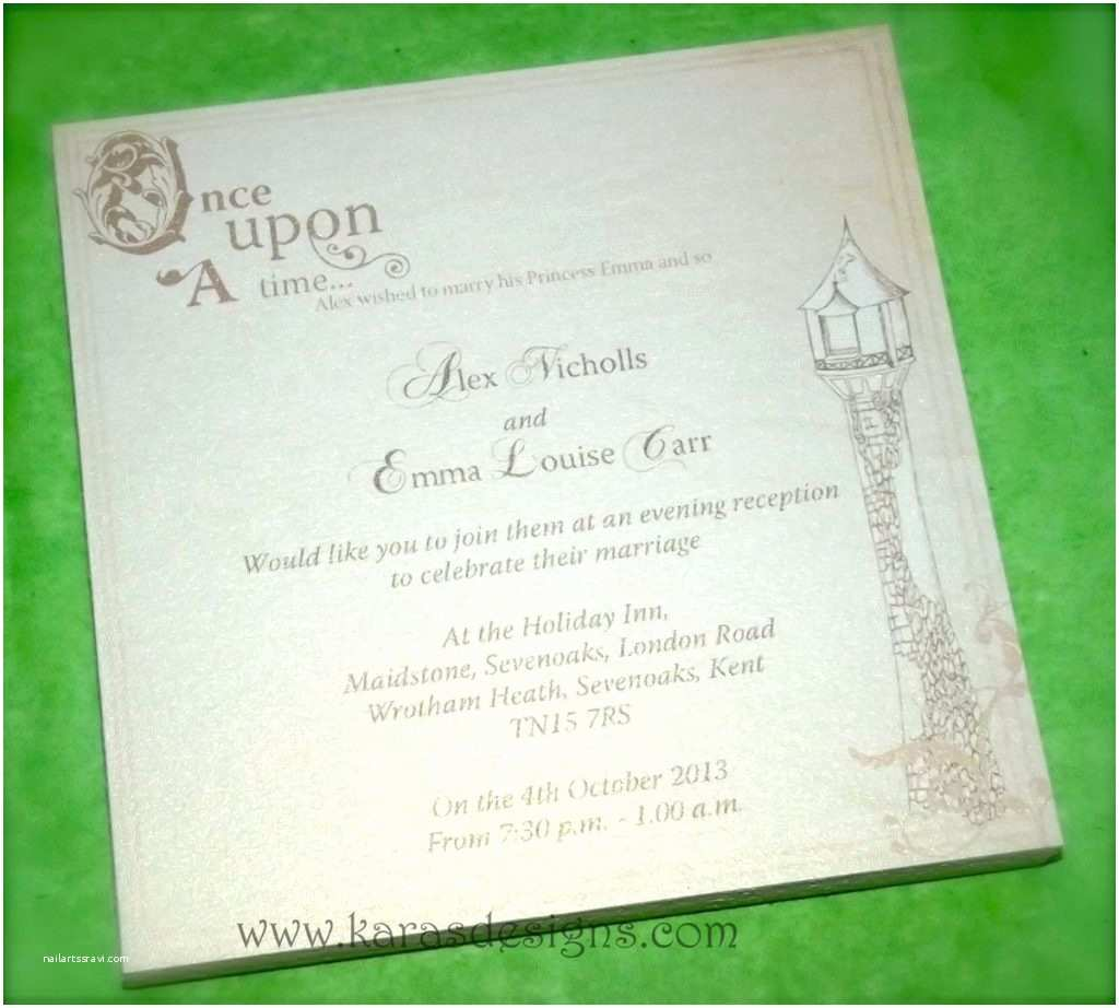 Wedding Invitation Time Inspirational Wedding Invitation Wording once Upon A Time