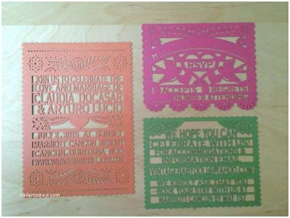 Wedding Invitation Tissue Paper 38 Best Images About Papel Picado Invitations and Tissue