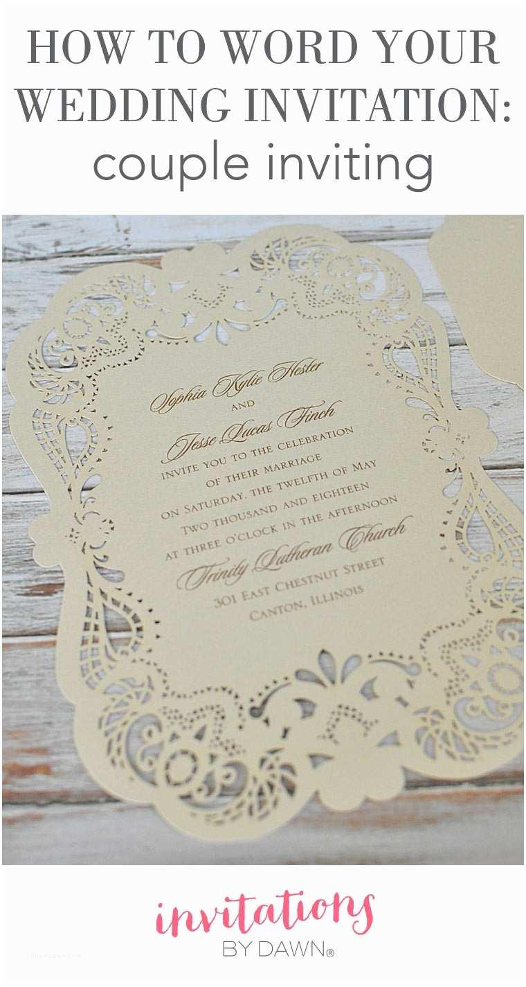 Wedding Invitation Verses Spanish Wedding Invitation Wording Couple Hosting Matik
