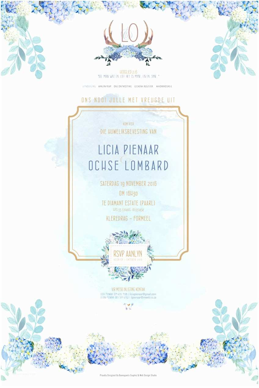 Wedding Invitation Website Floral Classic Custom Wedding Invite Website
