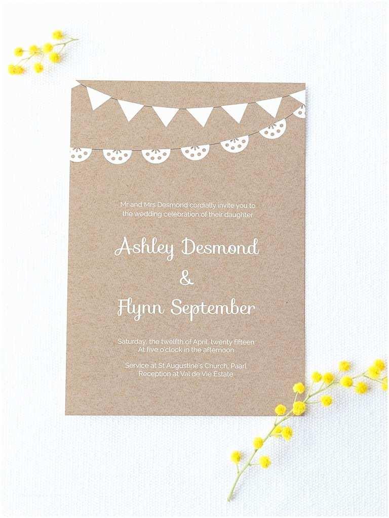 Wedding Invitation with Photo Templates 16 Printable Wedding Invitation Templates You Can Diy