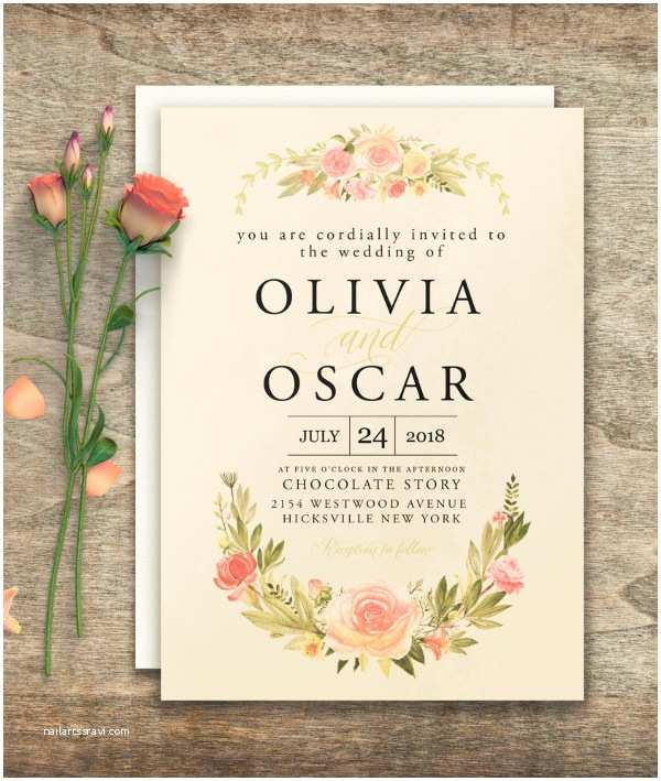 Wedding Invitation with Photo Templates 30 Elegant Wedding Invitations Free Psd Vector Ai Ep