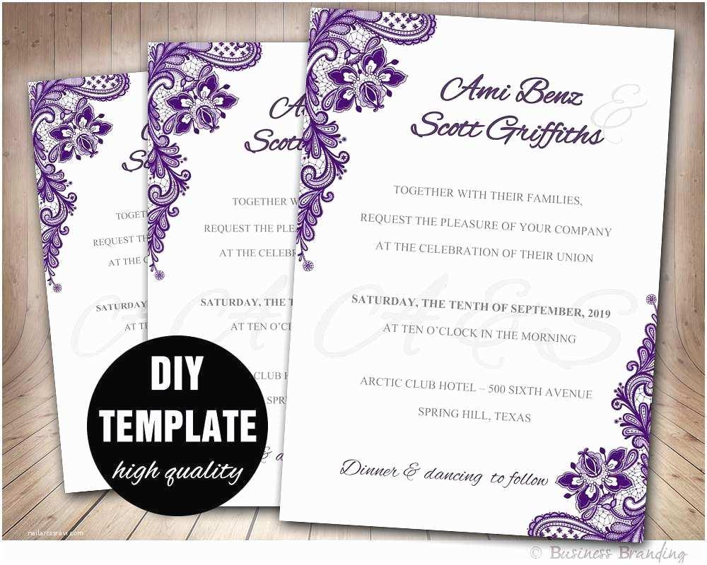 Wedding Invitation with Photo Templates Free Wedding Invitation Templates