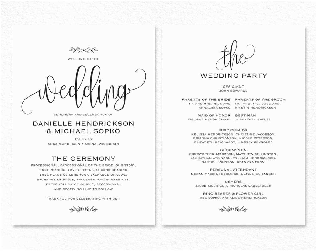 Wedding Invitation With Photo  Rustic Wedding Invitation