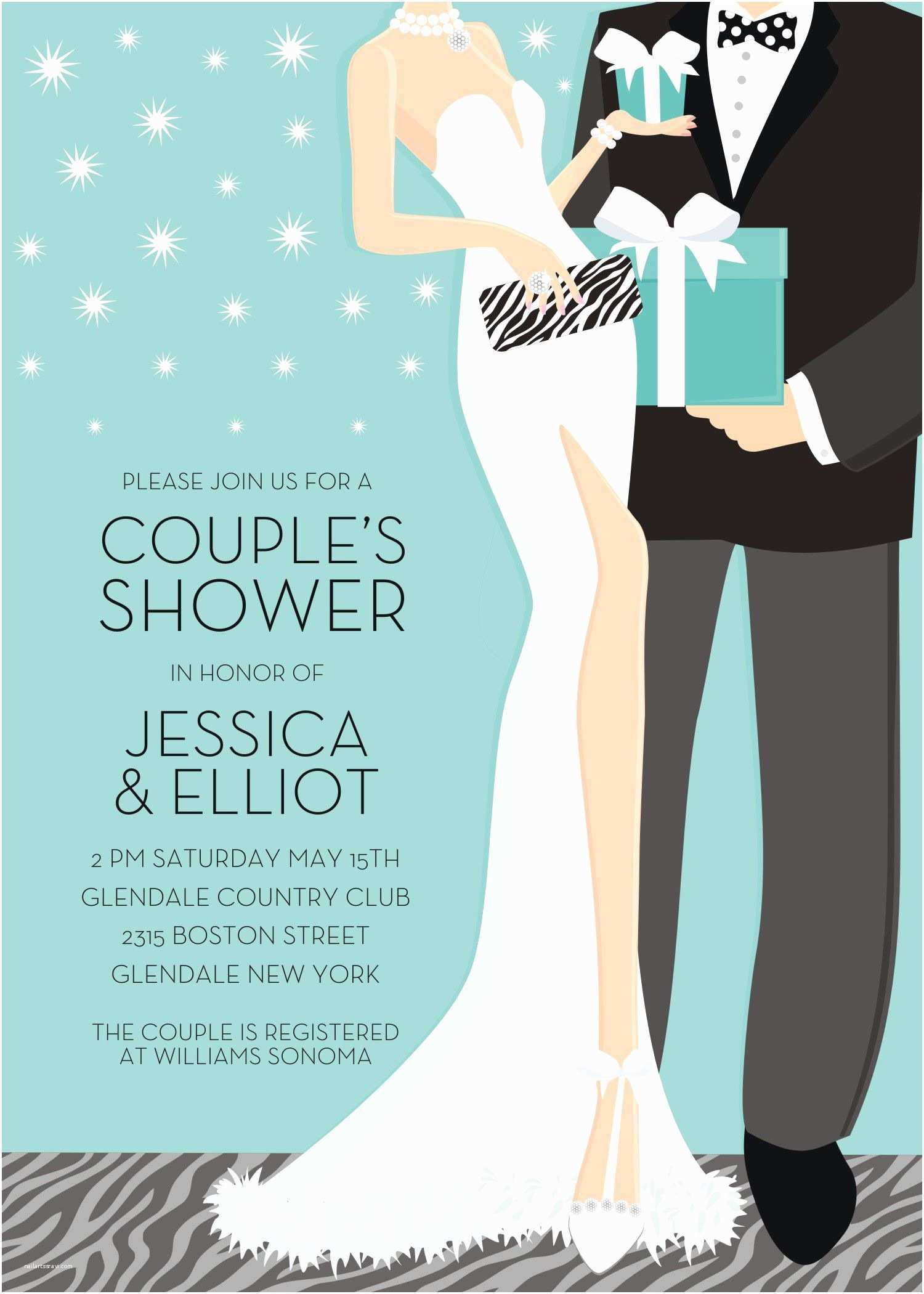 Wedding Invitation with Photos Of Couples Free Couples Wedding Shower Invitations Couples Bridal Shower