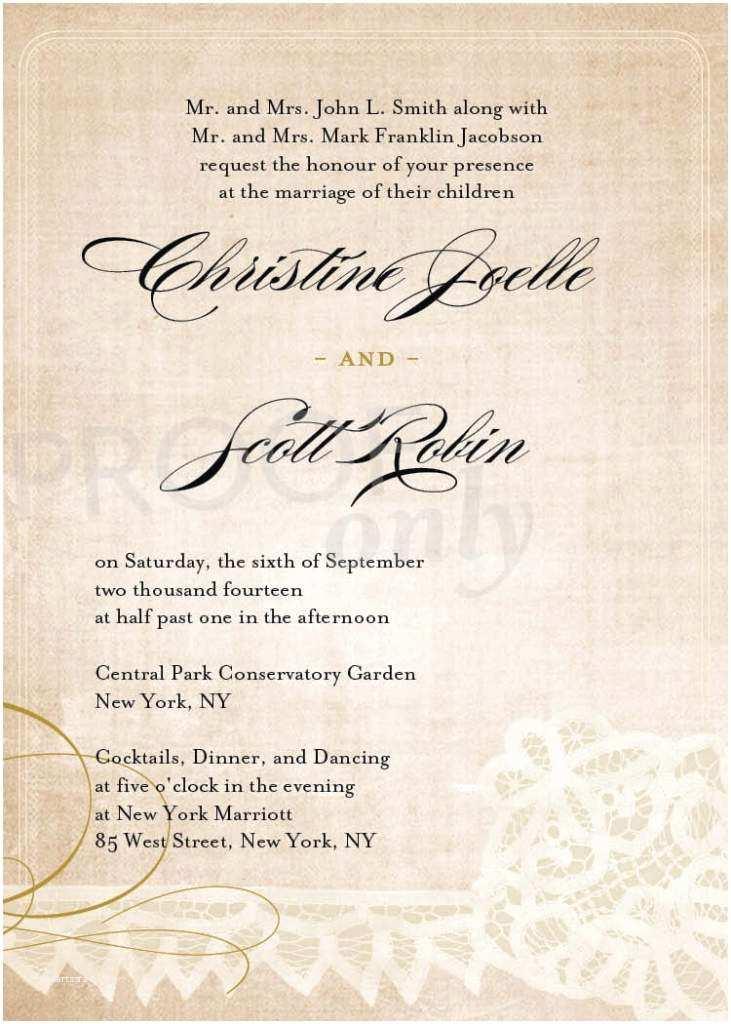 Wedding Invitation Wording Bride and Groom Hosting Unique Wedding Invitation Wording