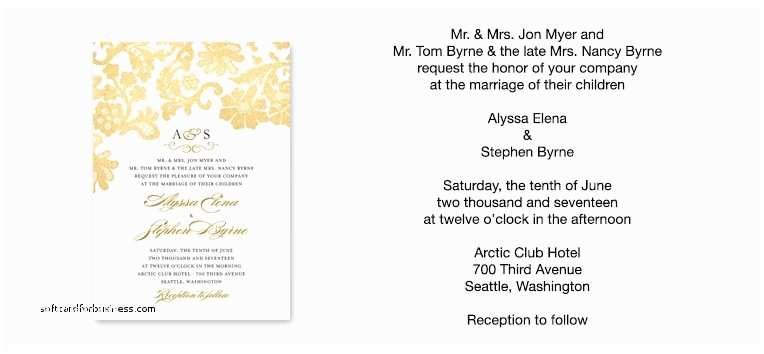 Wedding Invitation Wording Bride and Groom Hosting Wedding Invitation Beautiful Wedding Invitation Wording