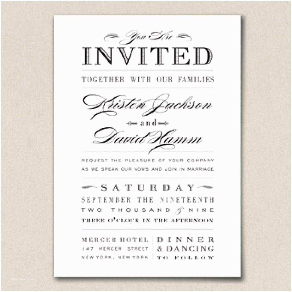 Wedding Invitation Wording Couple Hosting Sample Wedding Invitations Wording